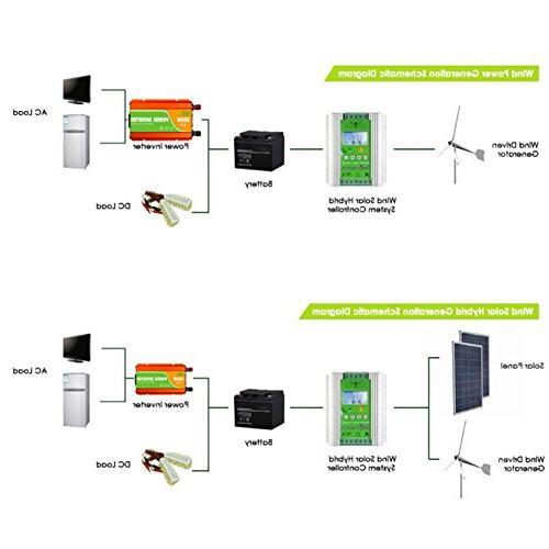 NEWIGOR 1400W Wind Solar Auto 800W 600W Solar with Booster