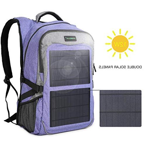 Kingsolar Multiple Backpack with Ports for Devices