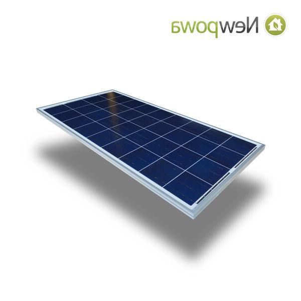 NewPowa 100W Watts Solar Panel Volt Off Battery Charge RV