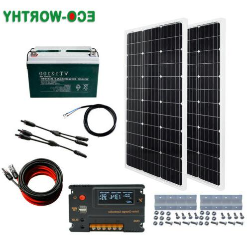 100W 1KW System battery charge