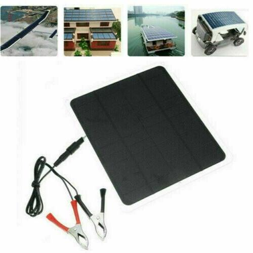 Solar Panel 12V Charger System Marine Boat Waterproof