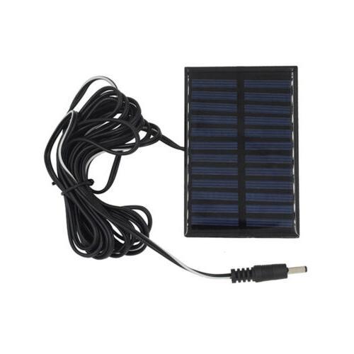 Outdoor LED Power Solar Lamp Tent Panel Yard Bulbs US