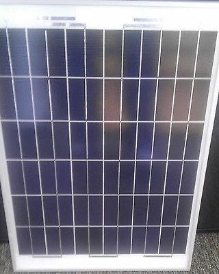 Solar Panel 50W WATT Volt German BOAT GRID