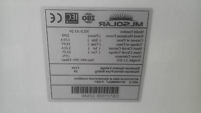 Solar 10W 20W 50W 100 WATT 12V Volt BOAT GRID