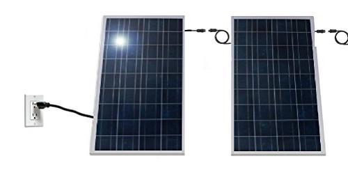 1500 Watt and Inverter, Plug Wall, AC Utility Micro Grid . Solar. 30 Credit