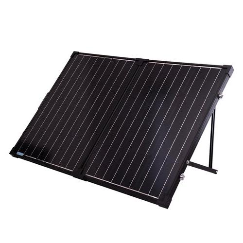 The Phoenix + 100 Watt Monocrystalline Solar Suitcase Kit