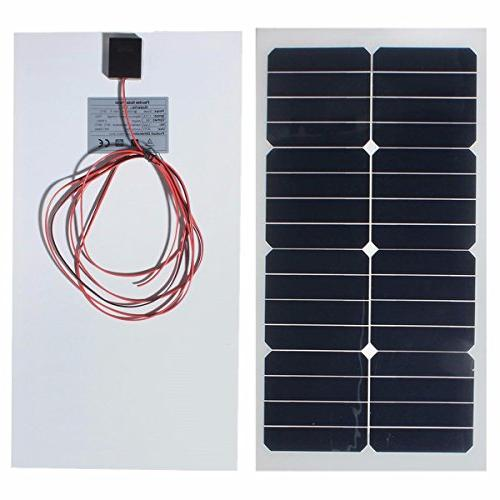 photovoltaic semi flexible solar panel