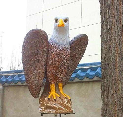 plastic bald eagle