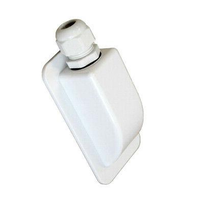 1X Plastic Single Entry Box Housing For Boats