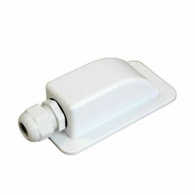 1X Plastic Single Cable Entry Gland Box Housing For Solar Pa