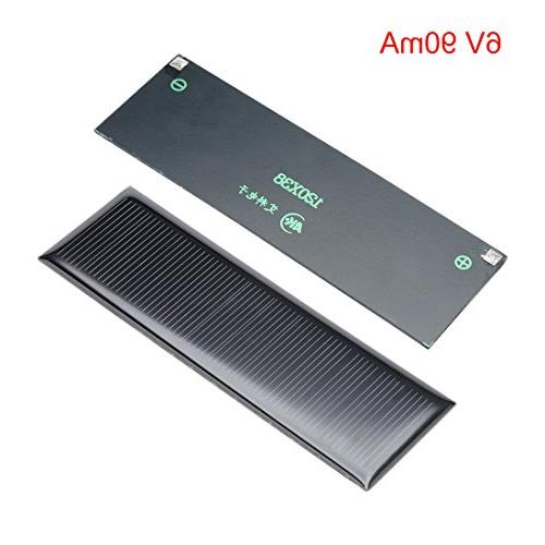 uxcell Poly Solar Panel Module Phone Toys Charger 120mm x