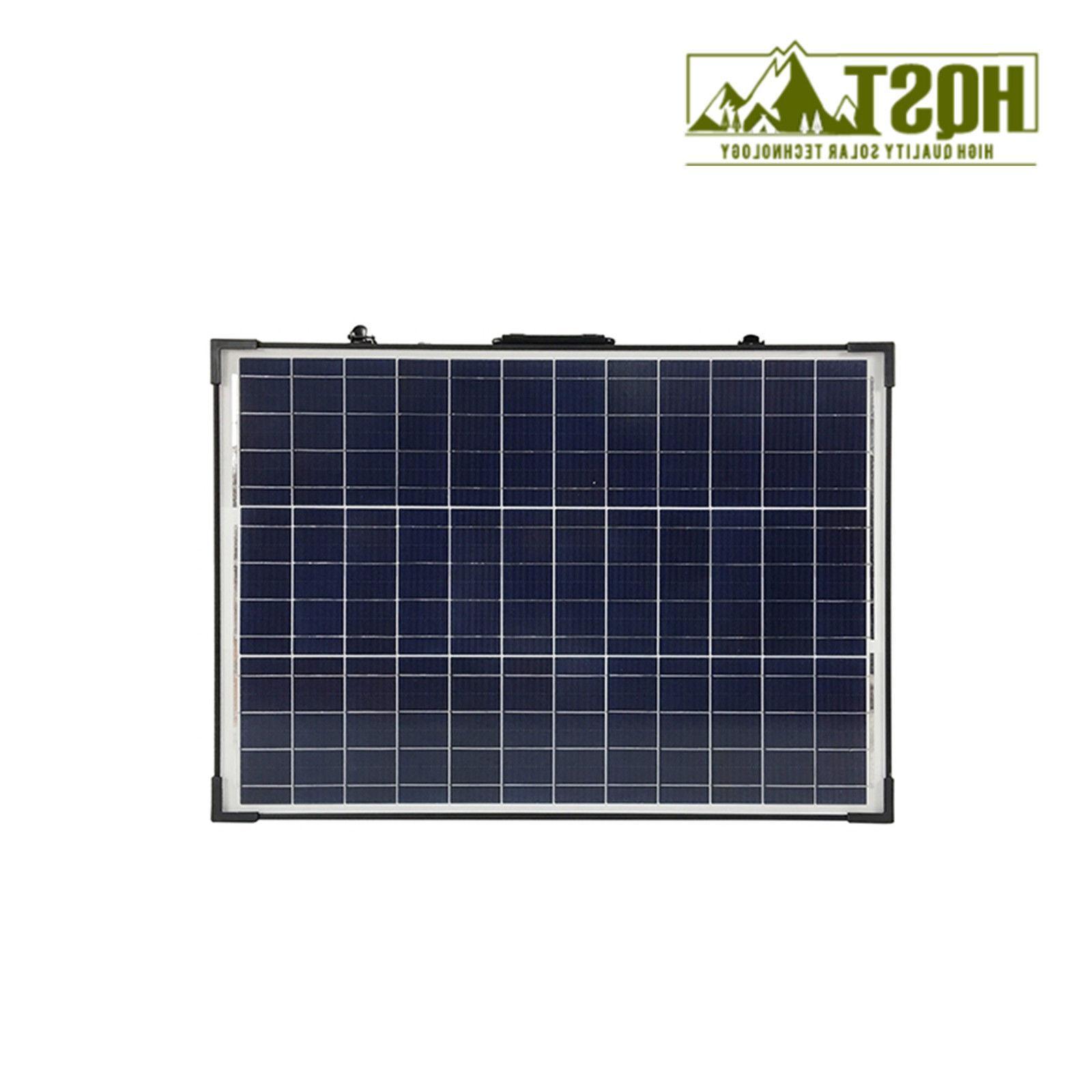 100W 12V Solar Suitcase Portable