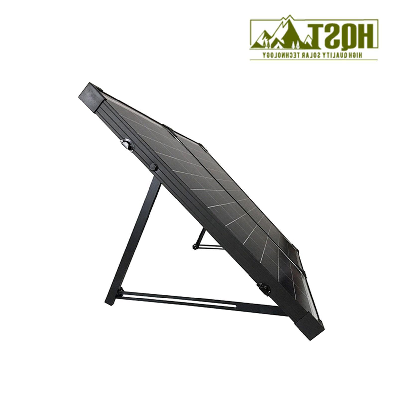 100W Polycrystalline Solar Portable