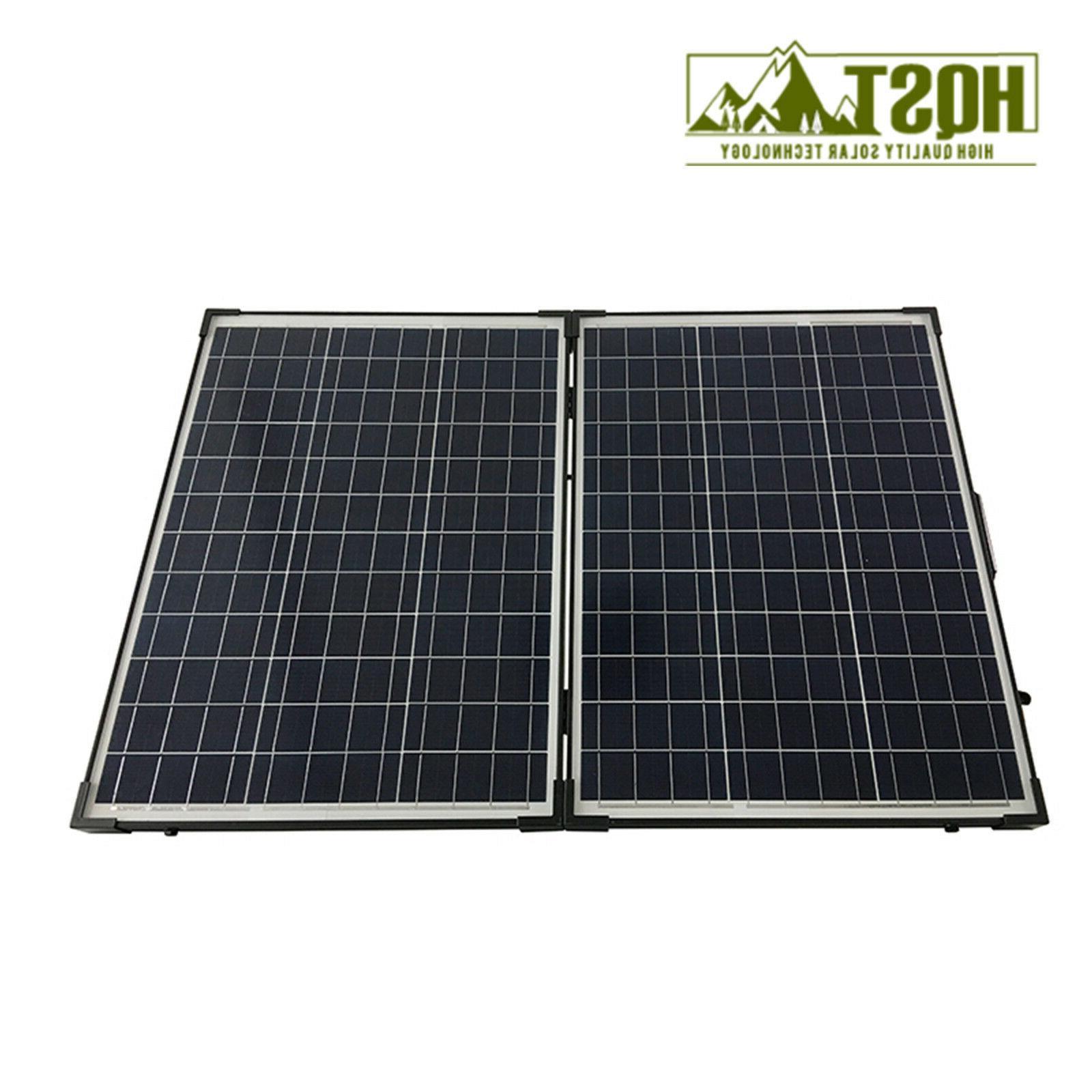 100W Polycrystalline Solar Suitcase w/ Portable