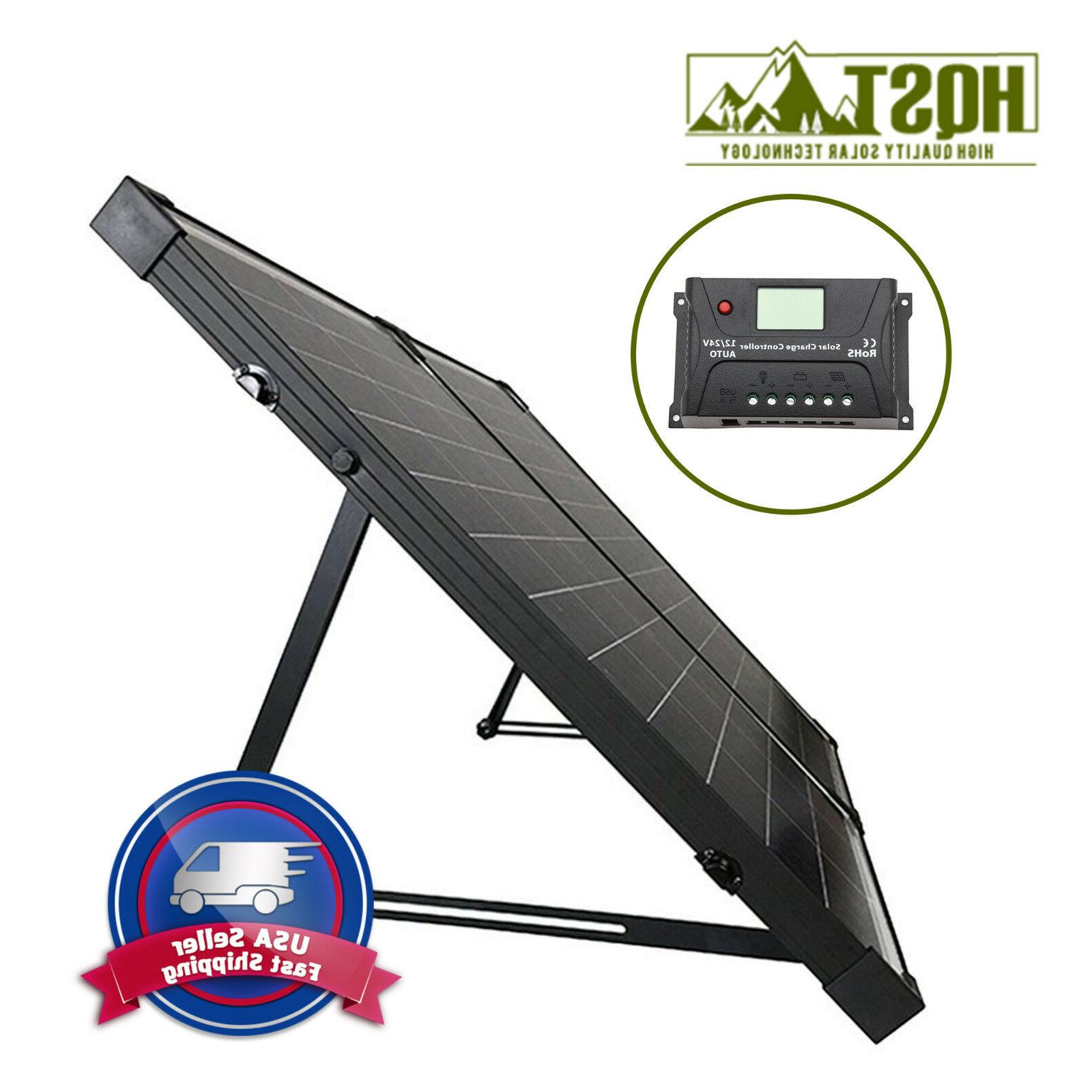 polycrystalline foldable solar suitcase