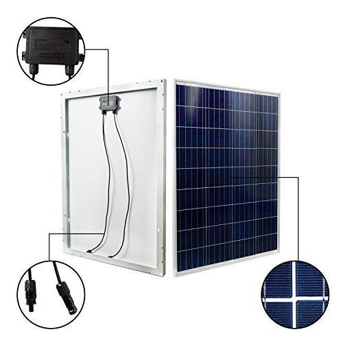 ECO-WORTHY 100 Volts PV Panel