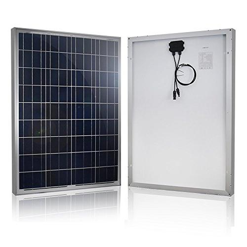 HQST Volt Polycrystalline Solar Kit with 30A PWM Charge Controller