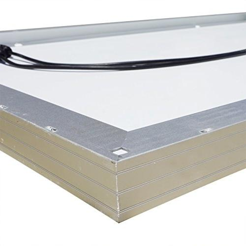 ECO-WORTHY 100 Polycrystalline Panel Battery Charging for