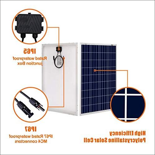 100W 12V Panel High RV Marine Grid