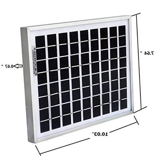 ECO-WORTHY Solar Panels 5 5w Module Home