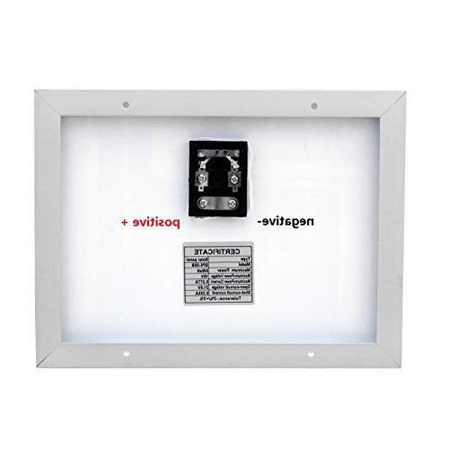 ECO-WORTHY Polycrystalline Solar 5 5w 12v Home