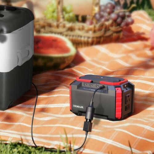 Portable 150Wh Energy Storage Charging USB 110V AC