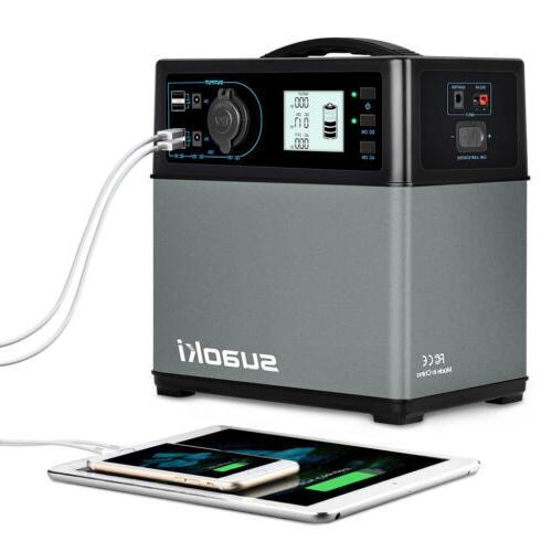Suaoki Portable Power Inverter Generator Supply Energy