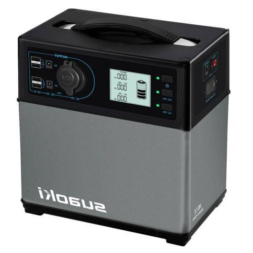 Suaoki 400Wh Power Inverter Energy