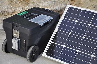 Portable 5000 2500 Watt 100 Ah Solar Generator
