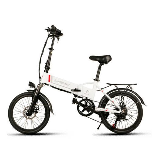 "20"" E-Bike Bicycle Mountain Bike"