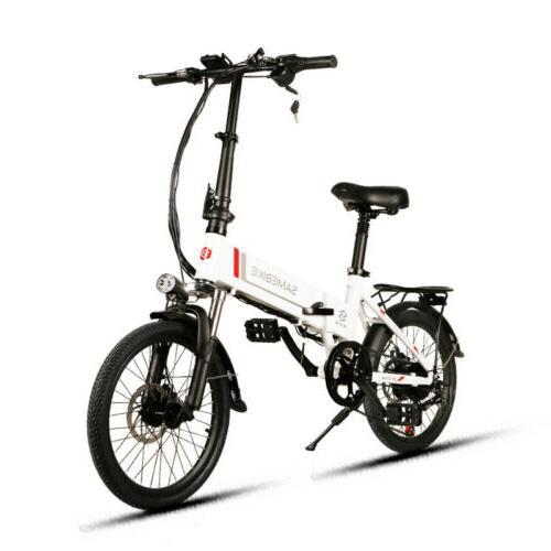"""20"""" E-Bike Cycling Mountain"""