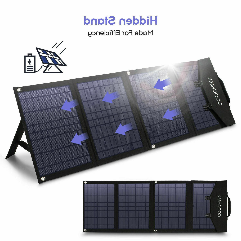 Portable Solar Panel 60W/120W Generator and US~