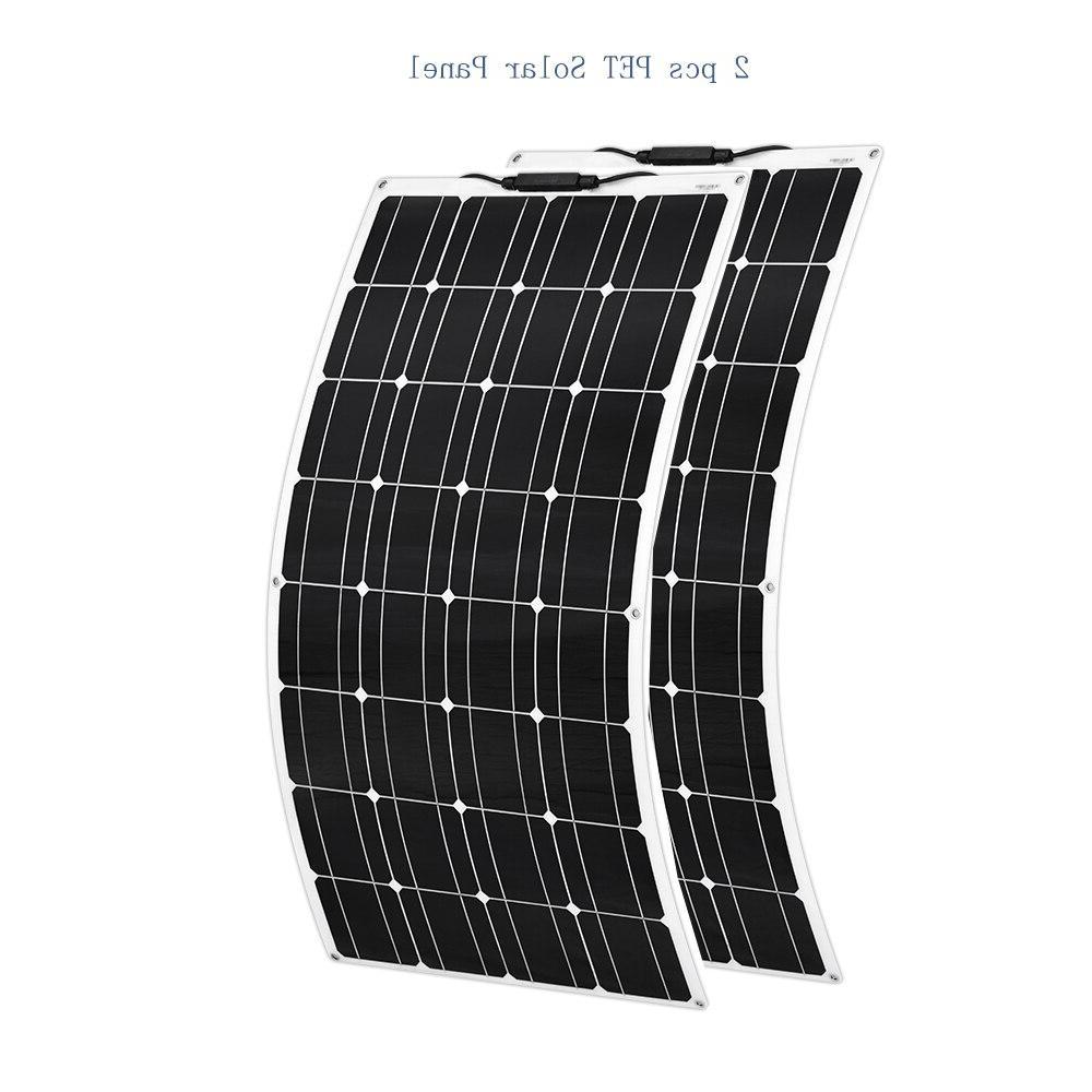 Boguang portable <font><b>Solar</b></font> Flexible plate monocrystalline flexible PV 12V 100 photovoltaique
