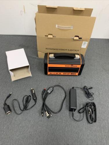 portable generator power source