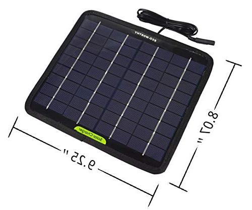 ECO-WORTHY 5 Watts Portable Power Panel for Car