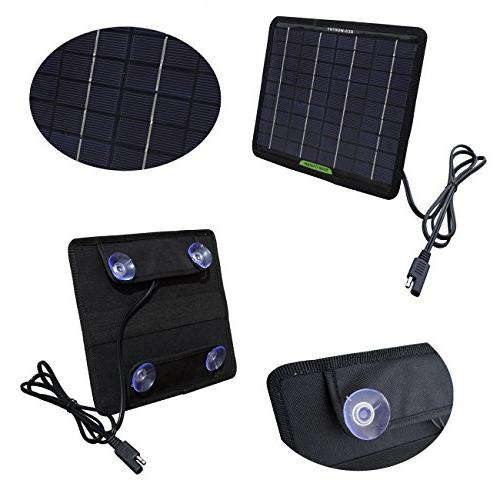 ECO-WORTHY 12 Watts Solar Panel Battery for Boat