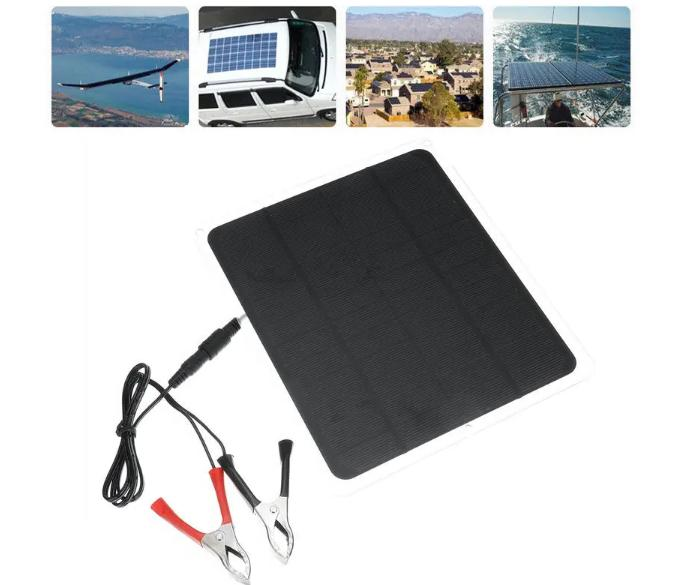 portable power solar panel battery