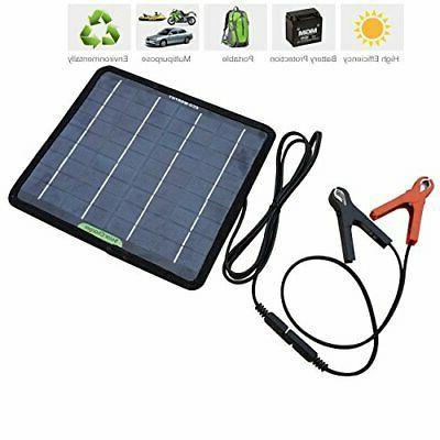 Portable Power Solar Battery Backup 12 Volts Car Boat