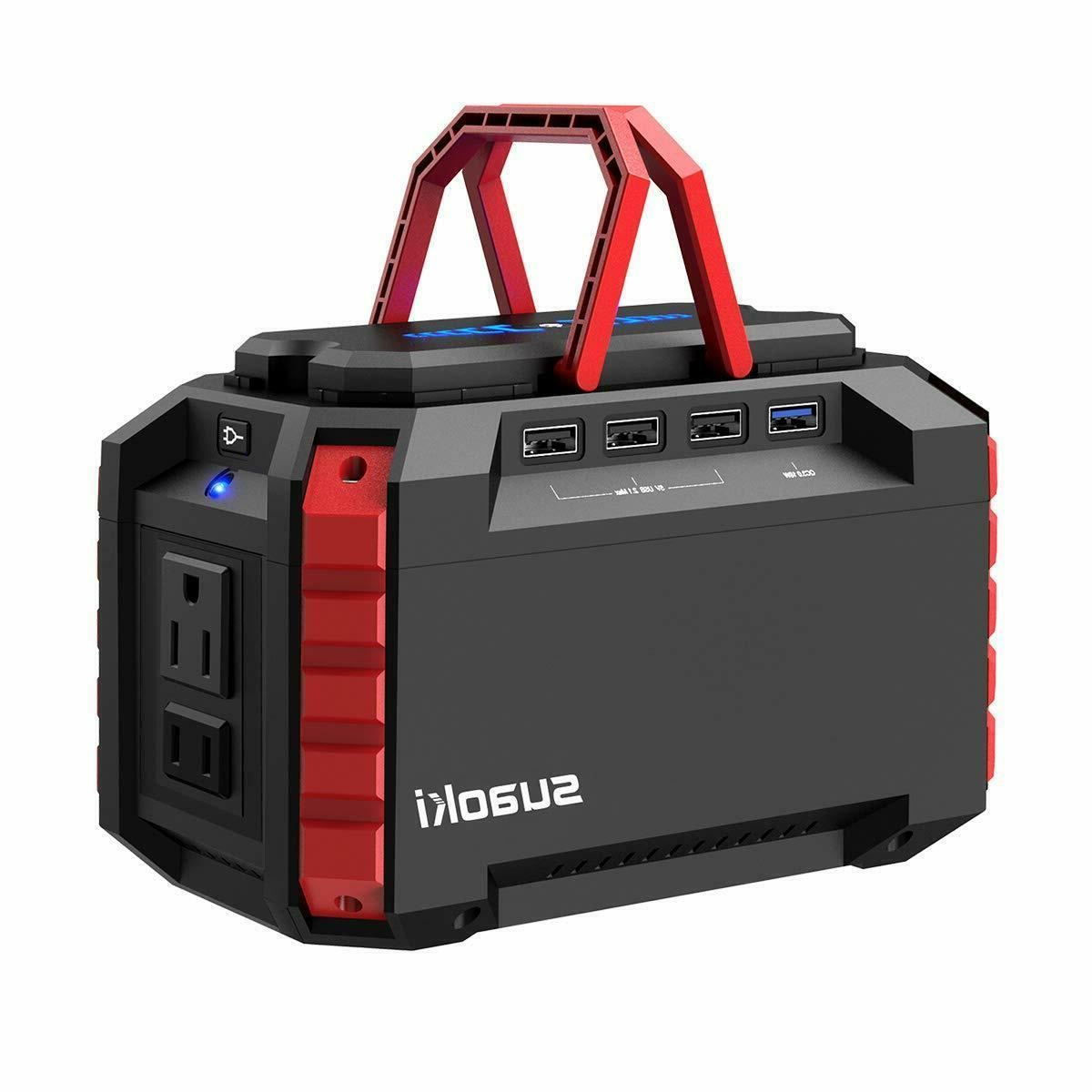 portable power station 150wh quiet supply generator