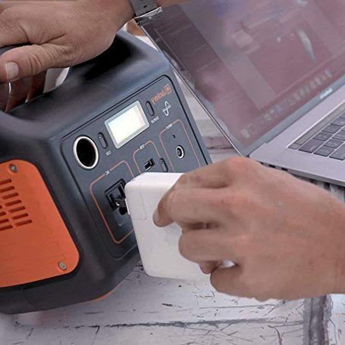 Jackery Generator Explorer Emergency 110V/200W Outlet,Solar Camping Fishing