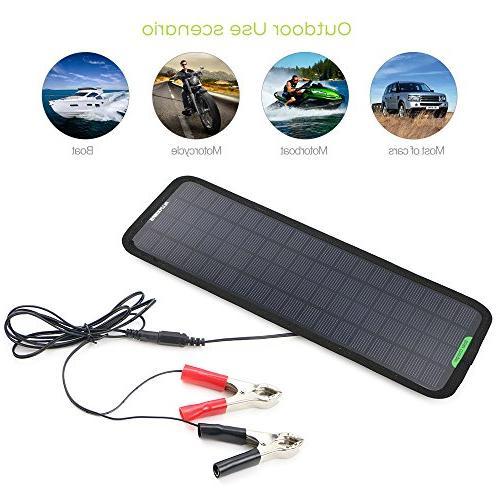 Solar Car Charger Bundle Plug, Line, Cups Manual