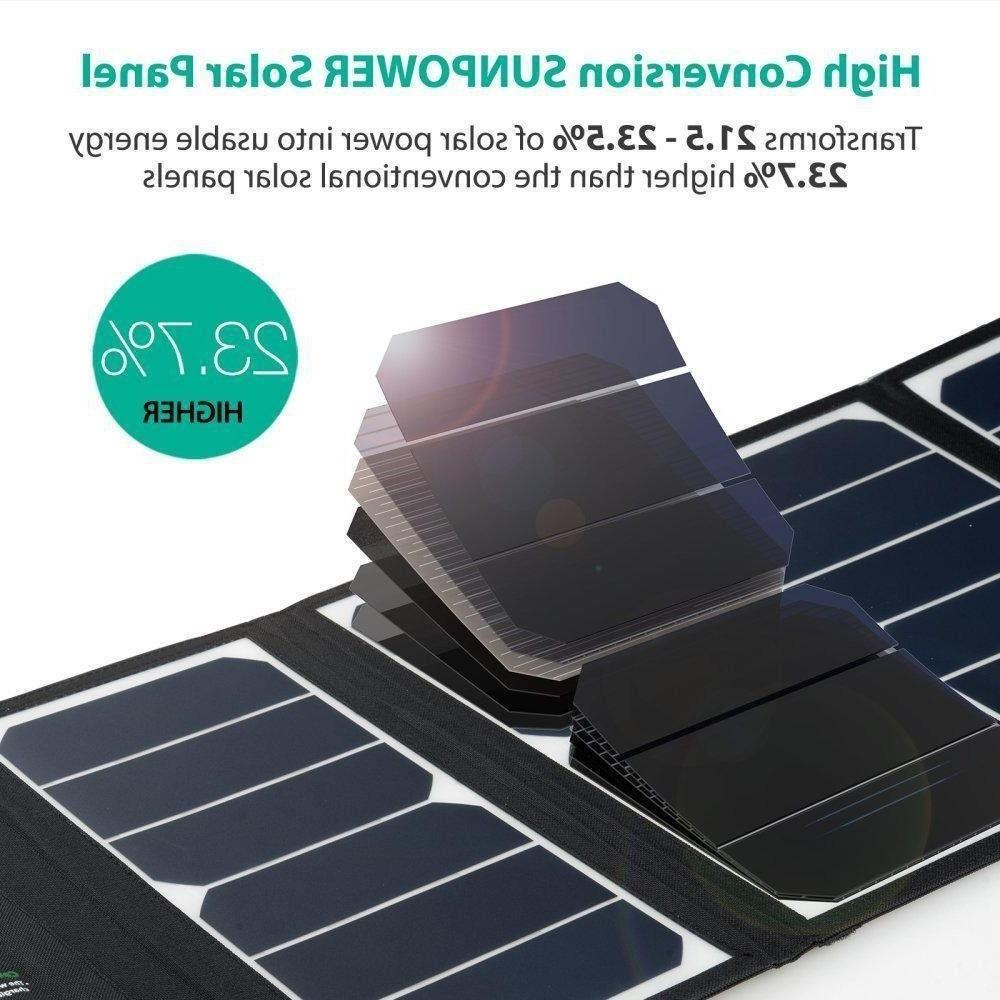 Portable Solar Panel with USB