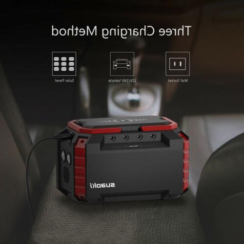 Suaoki Portable Supply Power With 4 12V