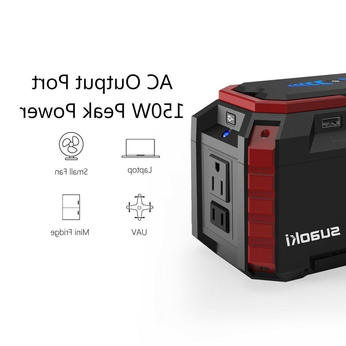 SUAOKI Solar Generator with Lithium