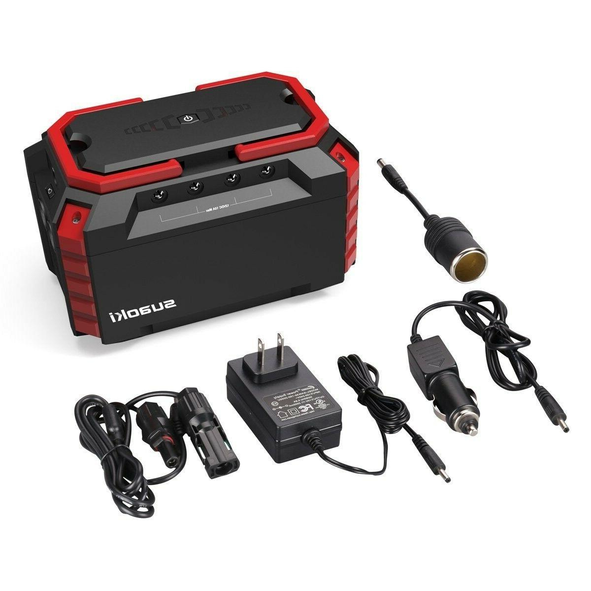 portable solar generator power station super quiet