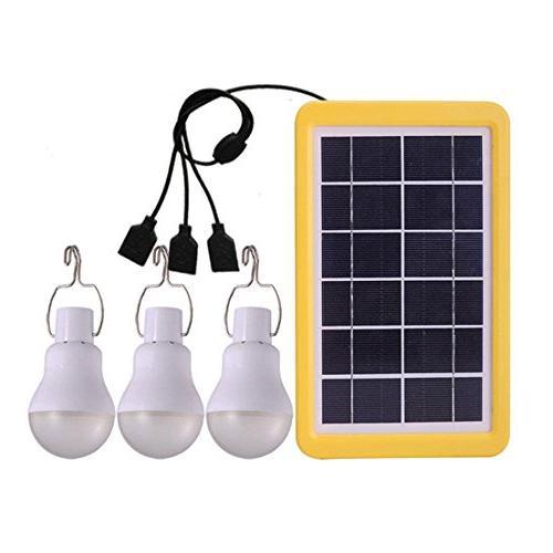 portable solar light bulb