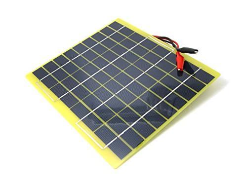 portable solar panel module battery