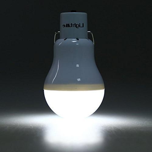 LightMe Portable Powered Bulb Light Outdoor Energy Lamp Lighting Hiking Camping