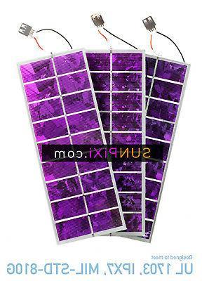 purple colored solar cell 5v 275 watt