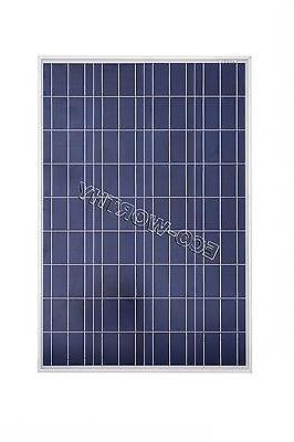 100W PV Poly Solar Panel with 15A Caravan RV